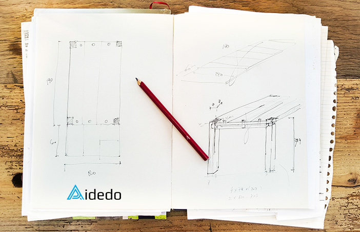 PAPER-IMAGE-HAND SKETCH TO CAD DRAWING