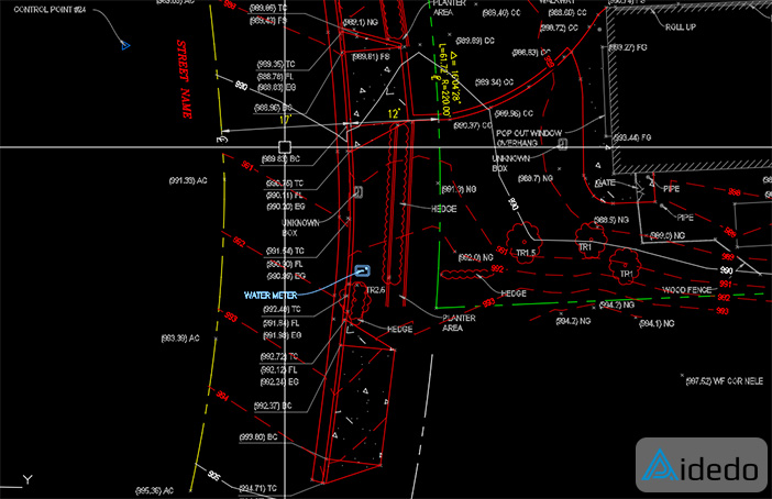 OUTSOURCING TOPOGRAPHIC SURVEYING DRAFTING